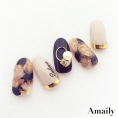 korean nail art 42 elegant nail art designs for prom 2019 46 42 elegant nail art designs for prom 2019 46 Nail Polish, Nail Manicure, Gel Nails, Marble Nail Designs, Nail Art Designs, Korea Nail, Korean Nail Art, Elegant Nail Art, Water Nails