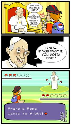 Pokemon Go in Vatican - 9GAG