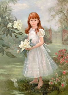 Baron Girl by Brenda Burke Illustrations, Illustration Art, Tres Belle Photo, Brenda, English Artists, Precious Children, We Are The World, Child And Child, Art Themes