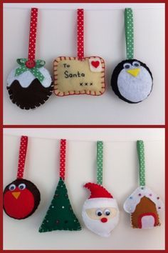 30 the perfect diy felt ornaments for christmas pinterest felt christmas decorations google search solutioingenieria Gallery