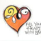 Doodles Zentangles, Zentangle Patterns, Zen Doodle, Doodle Art, Hand Painted Fabric, Heart Painting, Creative Memories, Scripture Art, Art Journal Inspiration