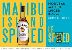 Malibu Island Spiced. How to target 18-25 yo into drinking Malibu again?