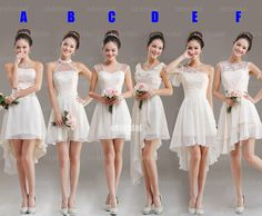 lace bridesmaid dresses, mismatched bridesmaid dresses,