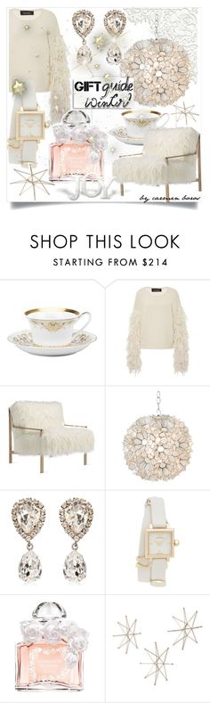 """""""seleccion personal  ..."""" by boroscarmen ❤ liked on Polyvore featuring Rosenthal, Tabula Rasa, Axel, Worlds Away, Dolce&Gabbana, Tory Burch, Guerlain and Uttermost"""