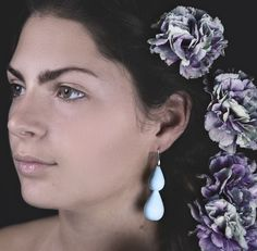 GOCCIA il nuovo modello by VRIK design!! #goccia #vrik #design #vrikdesign #collection #2016 #style #accessories #elegant #earrings #forever #party #colors #flower #nature #diversity #girl #model  #photooftheday #photo #cool #amazing #available #now #webstagram #3dprinting #pla #madeinitaly #milano @viola.malaspina by vrikdesign