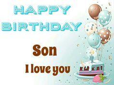 HAPPY BIRTHDAY SON More