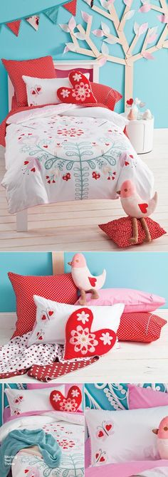très cute!!! cottonbox - bed linen :: Quilt Cover Sets, kids bed linen, Duvet Cover Sets, Buy bed linen, quilt sets, comforter, bed linen Australia - Boho Butterfly Quilt Cover Set by Hiccups
