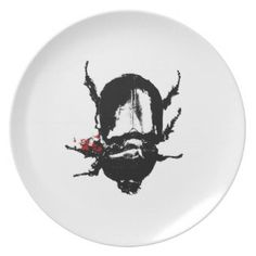 Dead Bug Plates on Zazzle #studiodestruct #art #plates #insects #bug #fineart #print