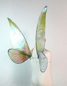 Child Sized Tinkerbell Wings in Cellophane