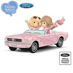 Precious Moments On The Road To A Cure Figurine Collection