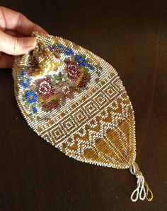 Sweet vintage beaded bags always make me happy!