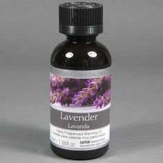 Elegant Expressions Concentrated Lavender Fragrance Oil for Aromatherapy, 1.9 Ounce, (OIL26) by Hosley. $4.69. This is a large bottle of fragrance oil blend for use in oil diffusers or to refresh potpourri. Not for use on the skin.