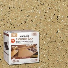 Giani Countertop Paint Vs Rustoleum : Rust-Oleum Transformations 1-qt. Desert Sand Large Countertop Kit ...