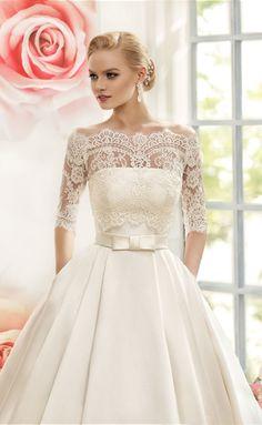 Свадебное платье Naviblue Bridal Dia 13480-1 ▶ Свадебный Торговый Центр Вега в Москве