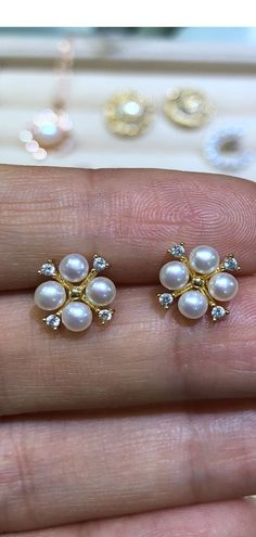 597303c17 Pearl earring,bridal ear pearl,fashion earrings stud,ivory pearl studs ,freshwater