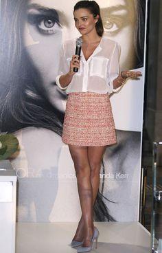 Miranda Kerr, classic look!
