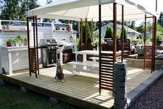 outdoor | terrace | lounge | kesäkeittiö | ikea | äpplarö | pavilijonki |