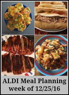 ALDI meal planning week of 12/25/16 -- Meal ideas around this week's sales! http://www.mashupmom.com/aldi-meal-planning-week-122516/