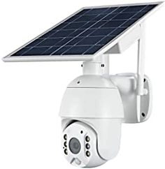 AT-S600 camera with 1920*1080P resolution,See everything in beautiful color and super clarity with this HD camera.2 Infrared LED and 4 floodlight LED provide clear colorful night vision. This IP Camera has a wide angle lens with 320°horizontal & 90°vertically rotation range to achieve almost 360°panoramic viewing.It also supports 1.0-4.0X Digital Zoom(Not optical zoom).Press and hold the screen with both hands to Zoom in/out and see more details. Home Video Surveillance, Surveillance System, Motion Activated Camera, Solar Camera, Ptz Camera, Power Colors, Solar Power Panels, Solar Battery, Solar