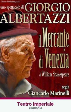 """TG Musical e Teatro in Italia: Giorgio Albertazzi è """"Il Mercante di Venezia"""" al T..."""