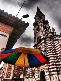 """Iglesia del Carmen, La Candelaria. ✮ """"Magdalena"""" - Bogota, Colombia  Great photo of La Candelaria!  Check out our Bogotá tours here:   http://seecolombia.travel/tours/Bogot%C3%A1"""