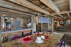 chalet suisse salle à manger