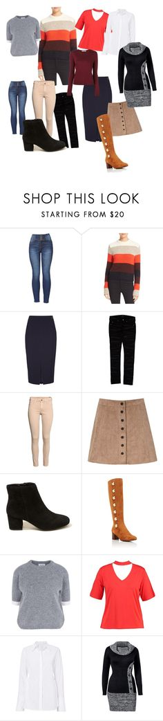 """""""autum"""" by mne-toth-veronika ❤ liked on Polyvore featuring rag & bone, Damsel in a Dress, Isabel Marant, H&M, Glamorous, Hollister Co., Chloé, Wood Wood, Boohoo and A.L.C."""