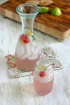 Cereja Limeade para os dias quentes de verão :) por melba