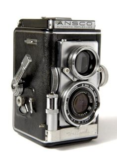 Ansco Reflex Automatic, Twin Lens Camera from the 50's