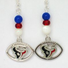 Houston Texans Earrings Bulls Earrings Houston by CollegePlace