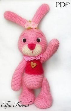 'Crocheting : Easter Bunny Amigurumi Pattern