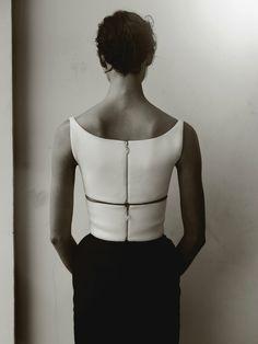 Top and pants: Balenciaga S/S 2013