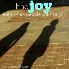 You don't have to be held #hostage by other people's #criticism of you. Truly, truly.