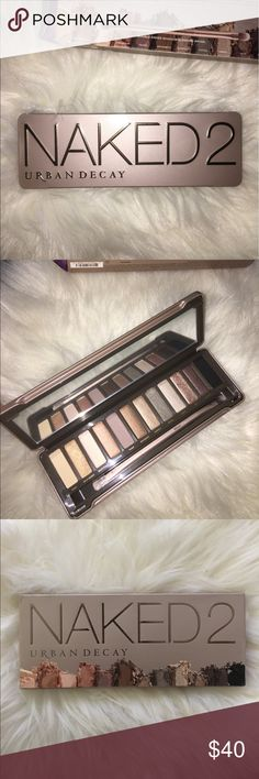 Urban Decay Naked 2 Eye Shadow Palette Urban Decay Naked 2 Eye Shadow Palette. Brand New. 100% Authentic. No Trades. Urban Decay Makeup Eyeshadow