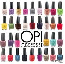 You could say I'm #OPI #obsessed