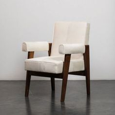 Pierre Jeanneret, Chandigarh, Armchairs, Furniture, Home Decor, Wing Chairs, Couches, Decoration Home, Room Decor