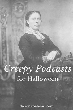 Looking for some creepy podcasts? Here is a list of some of my favorite creepy, historical podcasts! Halloween Food Crafts, My Brain, Diy Costumes, Creepy, History, Books, Pumpkin Spice, Addiction, Geek