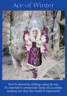 Oracle Card Ace of Winter | Doreen Virtue | official Angel Therapy Web site