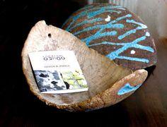 Tray made with lapillus and Vesuvian stone / Vassoio in lapilli e pietra vesuviana / Plateau en lapilli et pierre du Vésuve