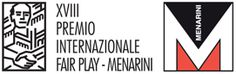 Logo XVIII Premio Internazionale Fair Play Menarini