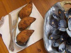 Mejillones Tigre. Receta (recipe, recipe), comida (food, food)