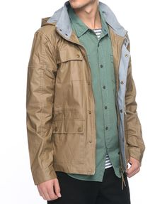 Casual Utility Jacket - Forever 21 Men