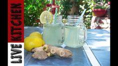 Κάντε την πιο ωραία σπιτική Λεμονάδα - How to make Fresh Lemonade- Live ... Fruit Punch, Kitchen Living, Table Decorations, Canning, Drinks, Home Decor, Youtube, Drinking, Beverages