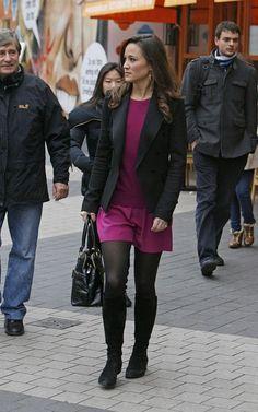 Pippa in purple on 11/16/2011