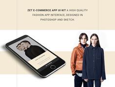 Zet Ecommerce App — UI Kits on UI8