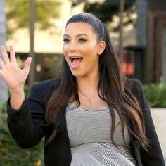 Kim Kardashian: Enceinte et fière de sa petite soeur Khloé, amincie et confiante