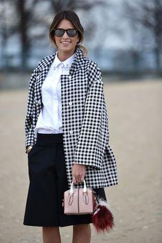 Paris Fashion Week A / W 2014: street style. Part IV (4 photos)