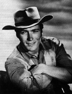 Clint Eastwood-tuned in every episode of Rawhide hoping to see Rmowdy Yates..long time ago..got better with the good, the bad and the ugly...
