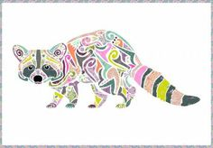 PRE-ORDER Reginald Raccoon Quilt Kit featuring Spirit Animal by Tula Pink Featuring Tula Pink's Spirit Animal collection for Free Spirit Fabrics, Reginald the trash cat, loves daydreaming about colorful garbage and getting crafty with his nimble paws.   Wall hanging or quilt centerpiece, the Reginald Raccoon kit contains 150 applique pieces with pattern and full size layout guide. Quilting has never been easier! Designed by Madi Hastings.   Quilt kit includes Tula Pink fabrics from her…