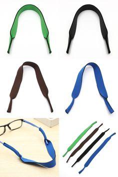 [Visit to Buy] 1 Pcs Neoprene Cycling Eyeglasses Soft Sleeve Neck Cord MTB Bike Glasses Strap Sports Sunglasses Strap Equipment #Advertisement